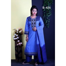 Cotton 3 Piece (BT-426)